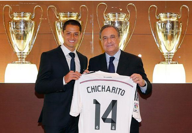 Chicharito-Real-Madrid