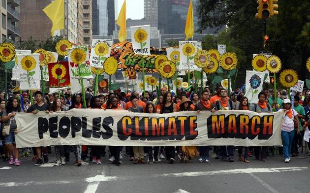 marcha cambio climatico ny4