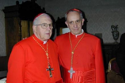 papa francisco cardenal mejia
