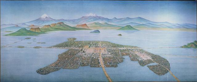 tenochtitlan lago de texcoco aeropuerto ciudad de mexico