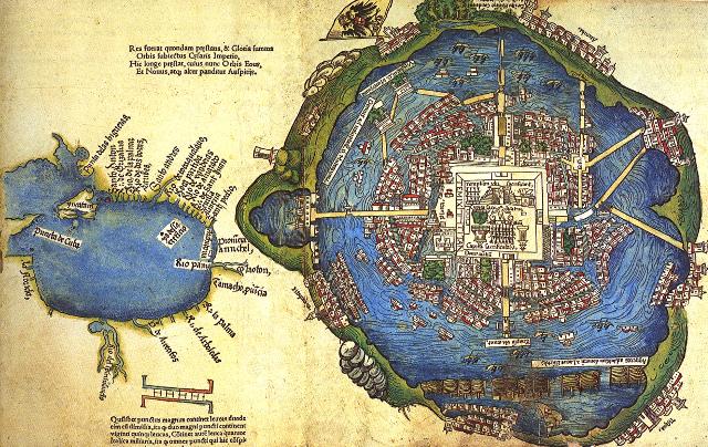 tenochtitlan lago de texcoco aeropuerto