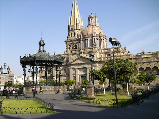 ¡Así luce la Catedral de Guadalajara!