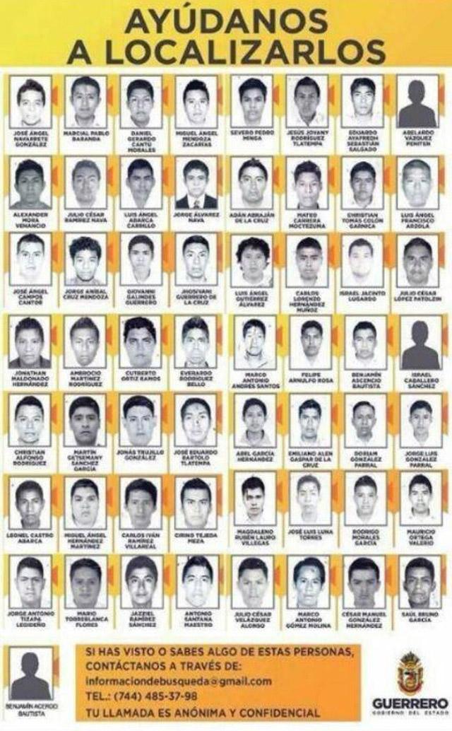 Estudiantes-Ayotzinapa