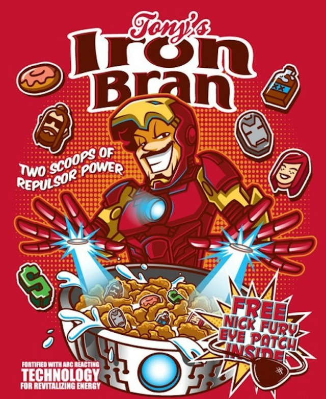 cereal ironman