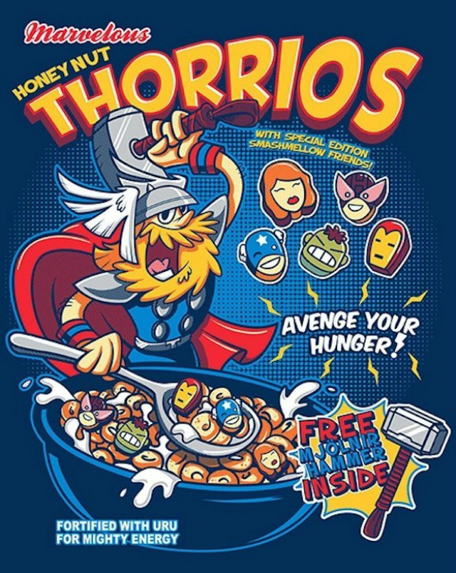 cereal thor