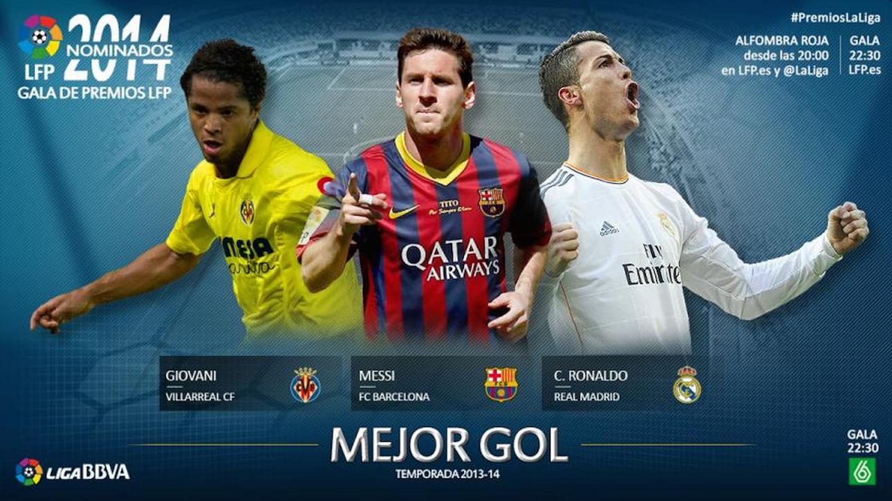 mejor gol gio 2013 14