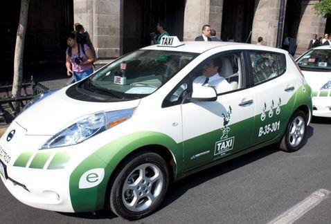 taxi electrico df1