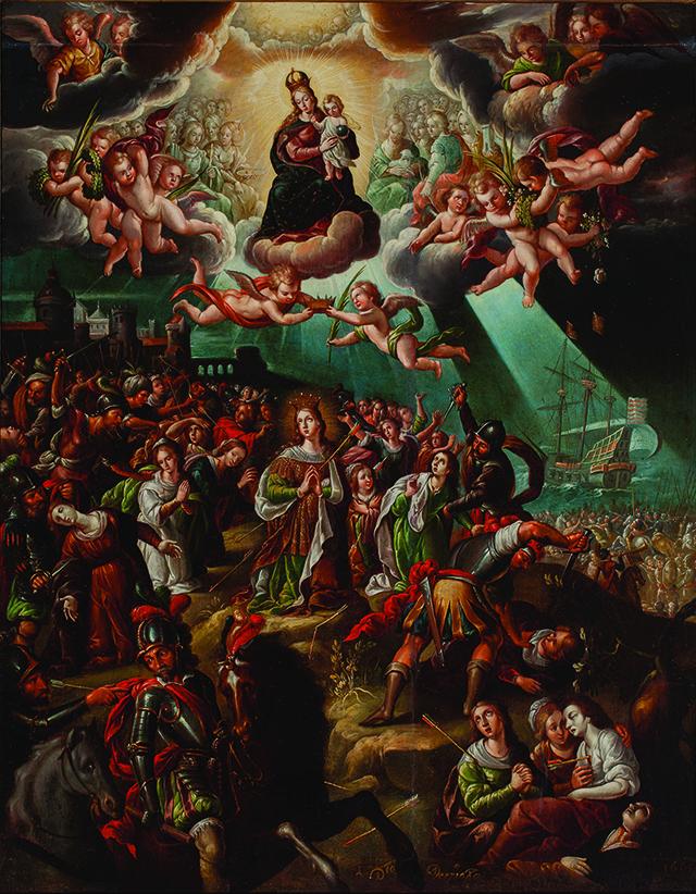 03_Martirio de santa Úrsula y sus compañeras