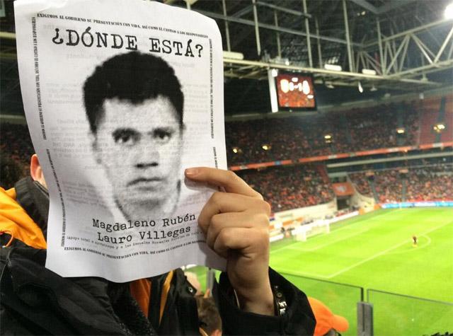 Protesta-Amsterdam-Ayotzinapa