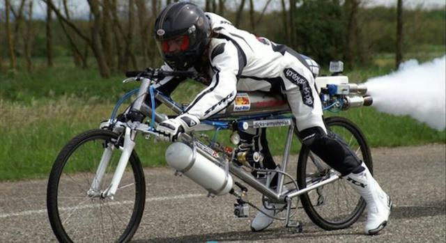 bicileta cohete