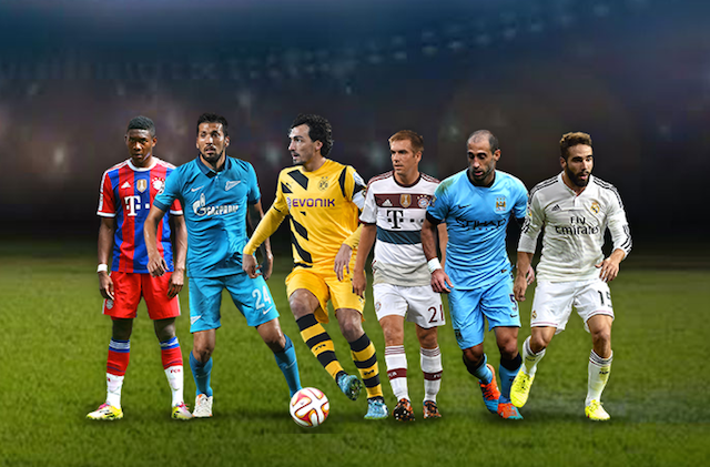 defensas XI uefa