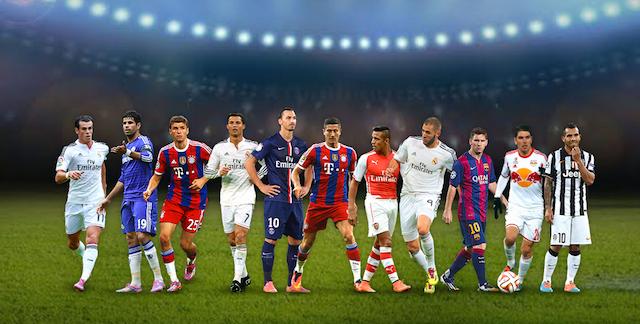 delanteros XI uefa