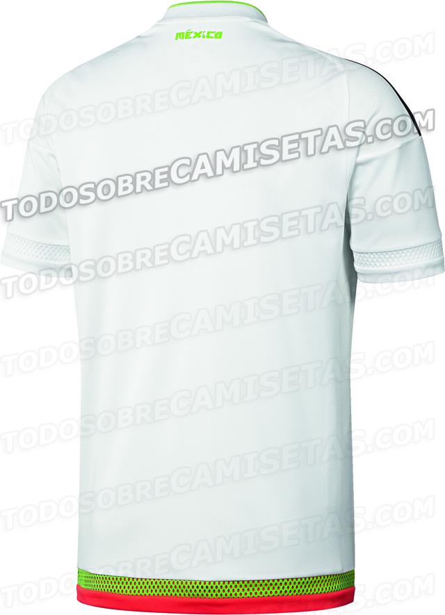 El nuevo uniforme de México para la Copa América 2015  468a5f5446170