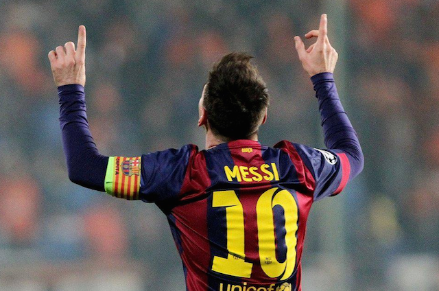 messi record ucl