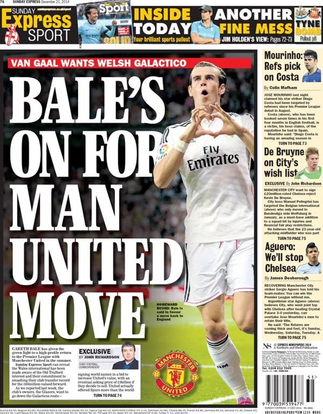 bale man united