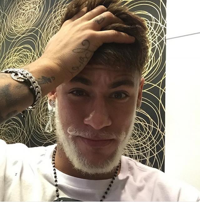 barba neymar