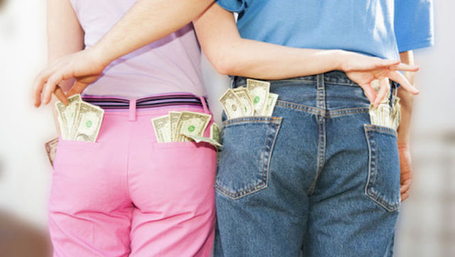 dinero en la pareja