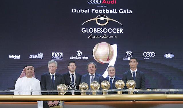 real madrid globe soccer