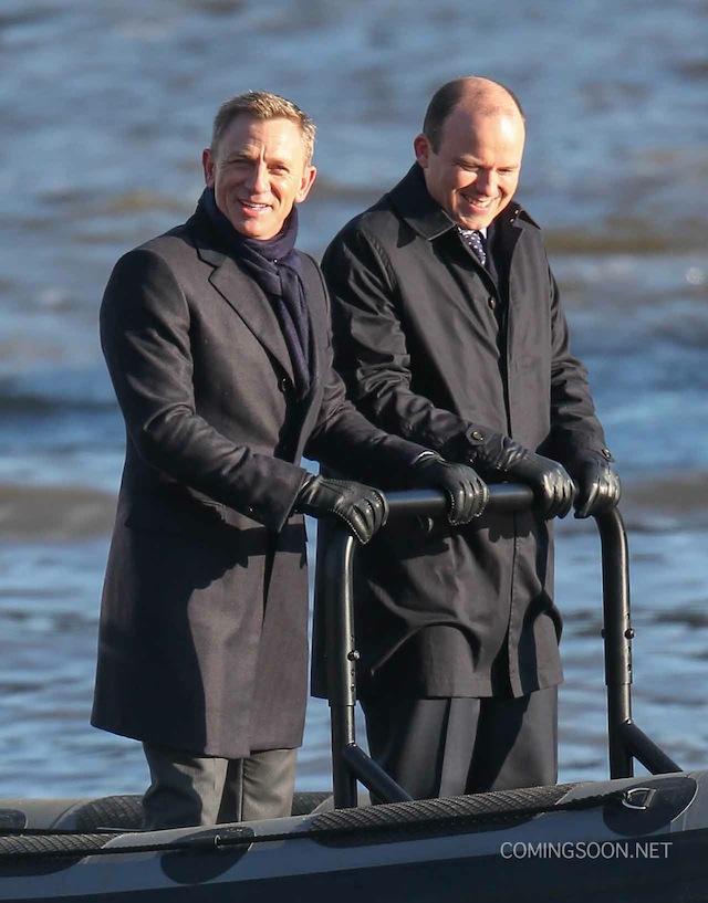 Bond film set London