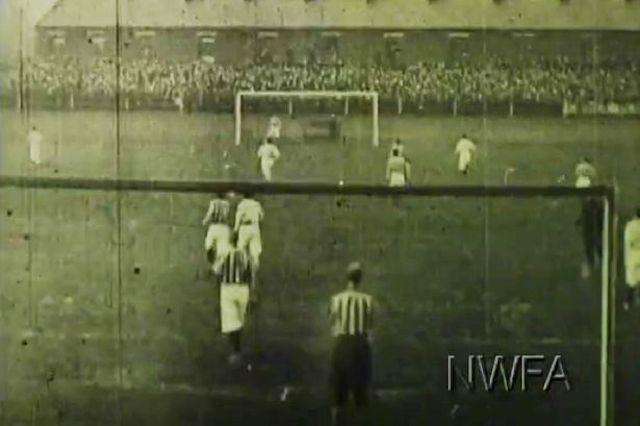 video mas antiguo de futbol