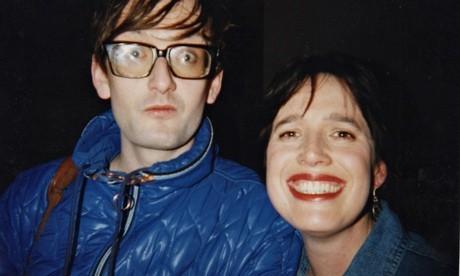 Deborah Bone with Pulp singer Jarvis Cocker.