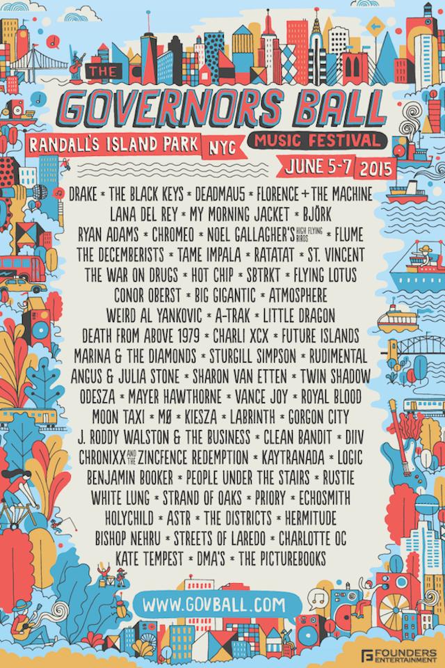 Governors Ball - 2015