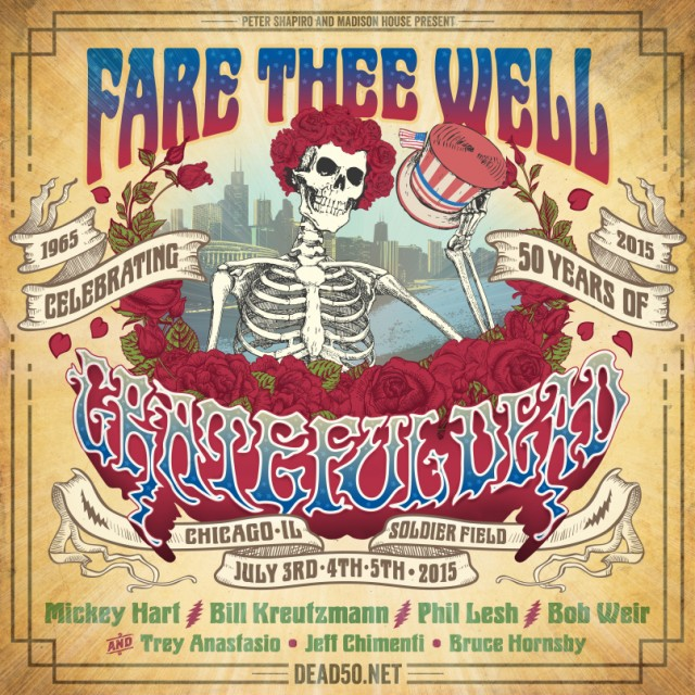 Grateful Dead - Chicago 2015