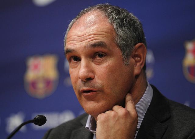 Andoni Zubizarreta, director deportivo del Barcelona