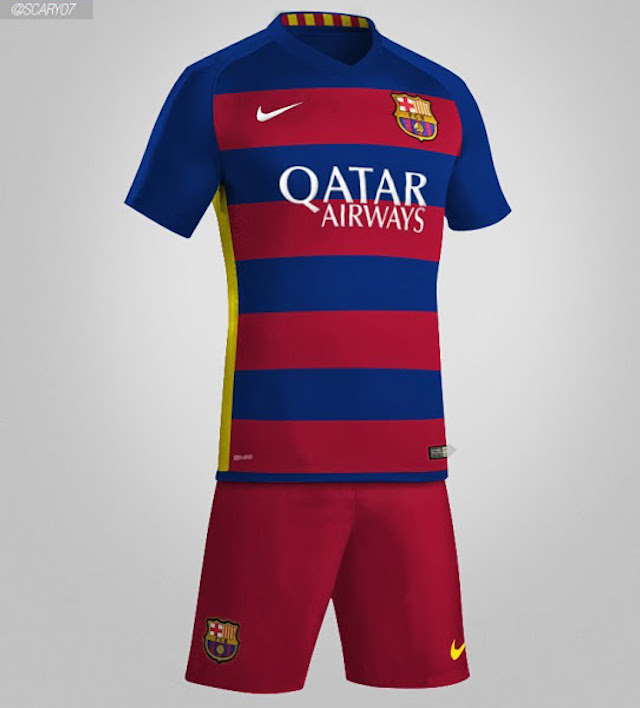 barça polemico uniforme local