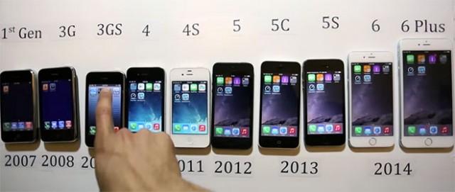 evolucion-del-iphone-2007-2014