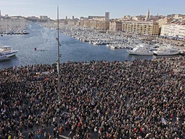 francia manifestación