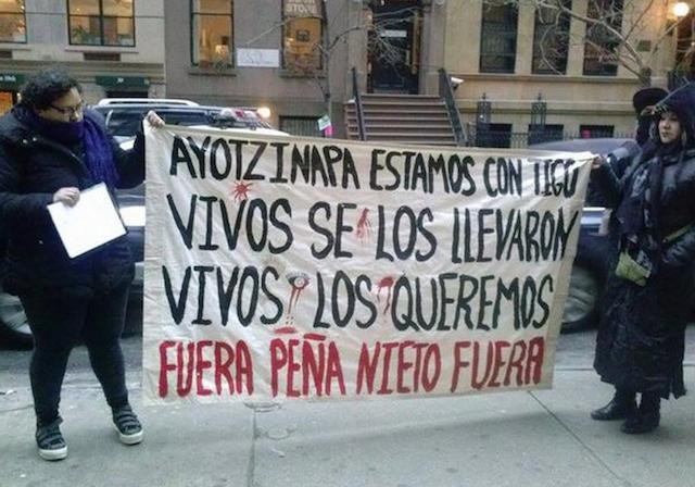nueva york ayotzinapa