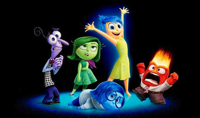 Pixar Post - Inside Out characters closeup