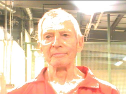 Robert Durst is pictured in this booking photo