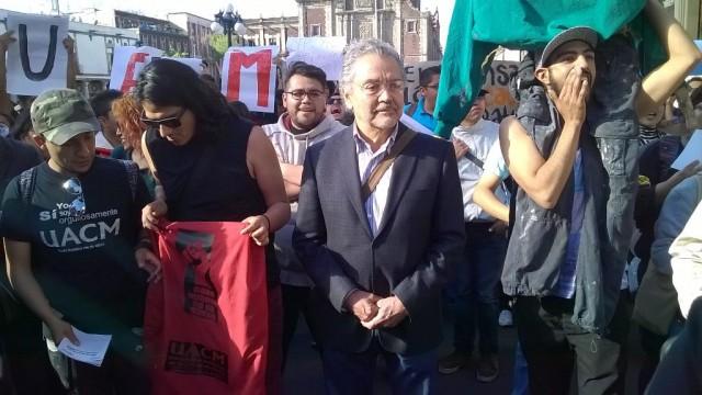 Hugo Aboites, rector de la UACM