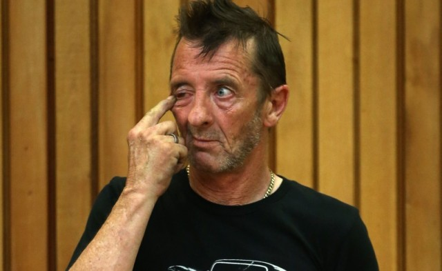 ACDC Drummer Appears In Court