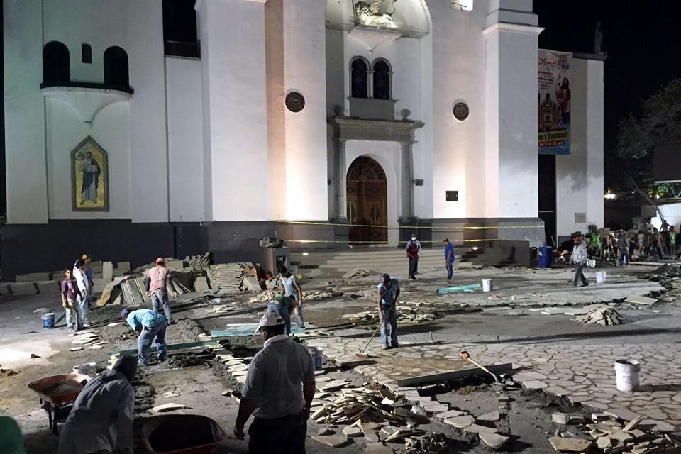 remodelacion catedral velasco