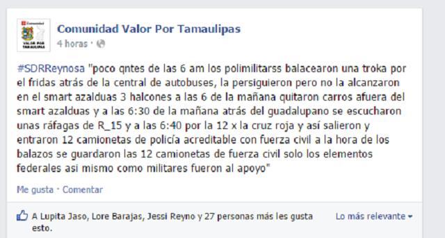 Narcobloqueos y enfrentamientos en Reynosa: 3 muertos