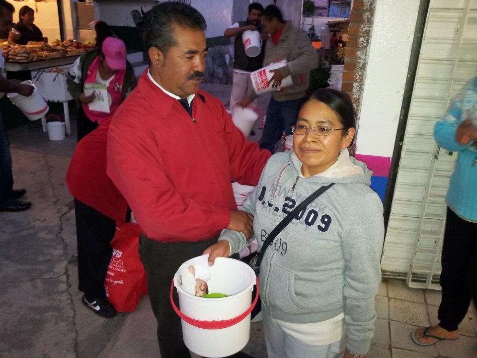 Denuncian compra de votos: PRI de Naucalpan paga mil pesos por SMS