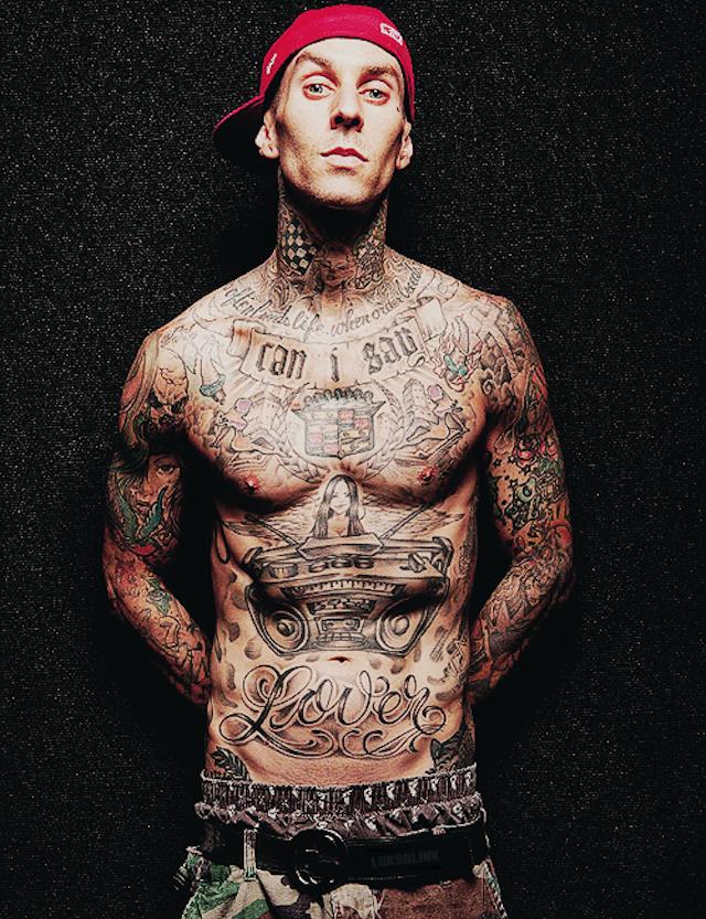 Travis Barker - Tatuaje