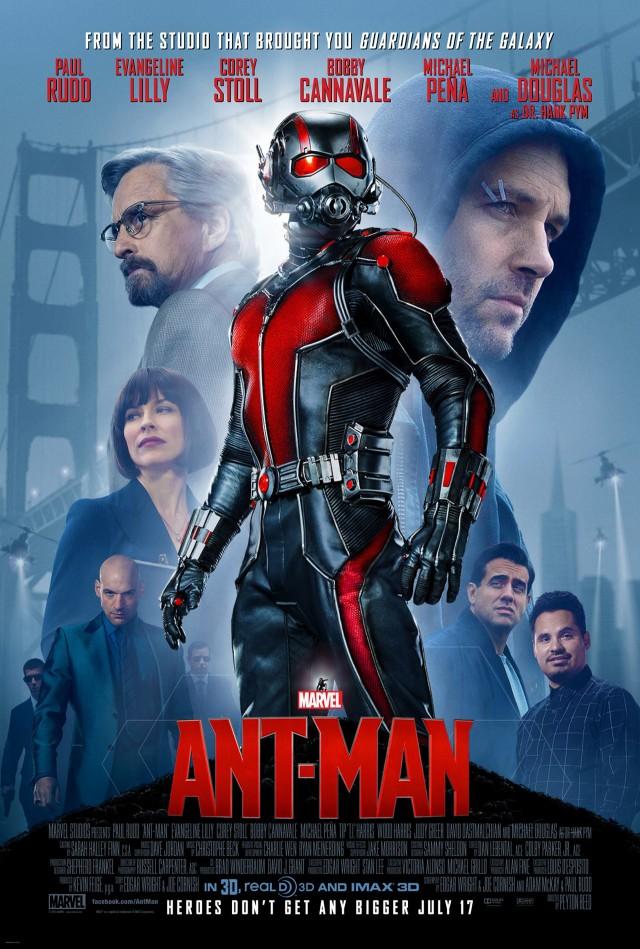 """Nuevo póster e imágenes de """"Ant-Man"""""""