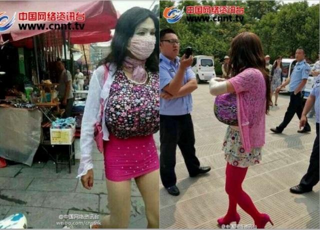 china falsa mujer