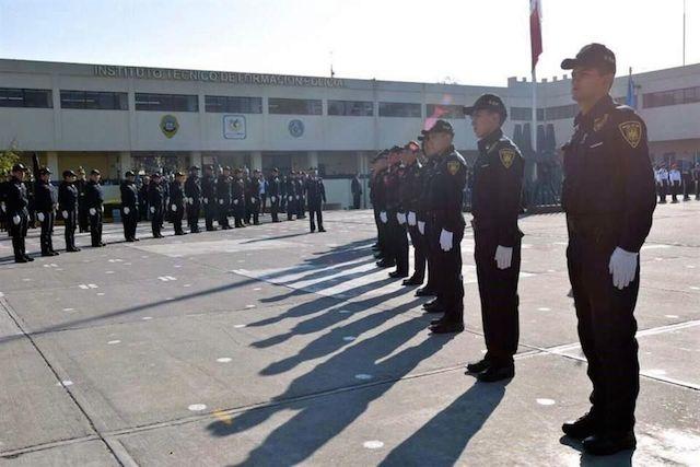 policías instituto tecnológico de formación