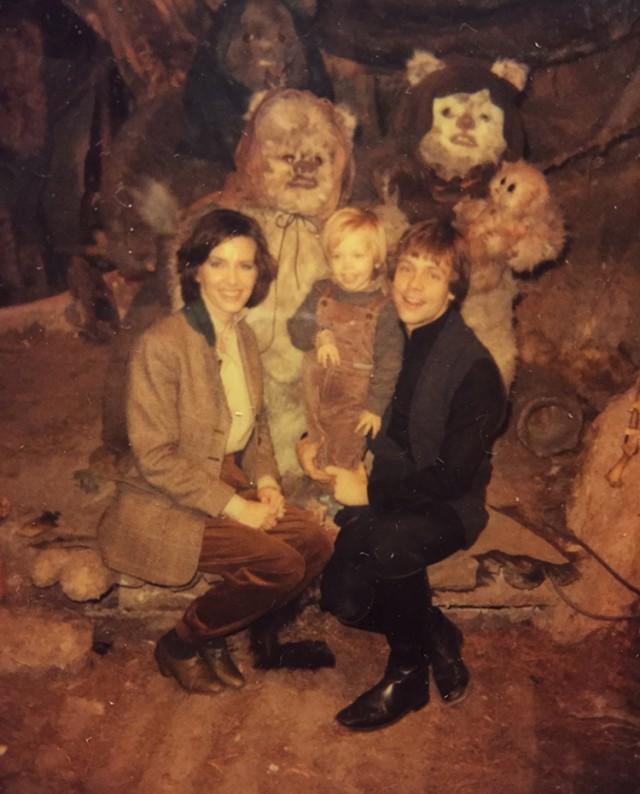 Las fotos de Mark Hamill en el set de Star Wars