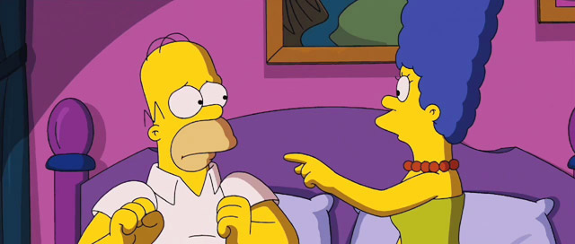 Divorcio-Marge-Simpson