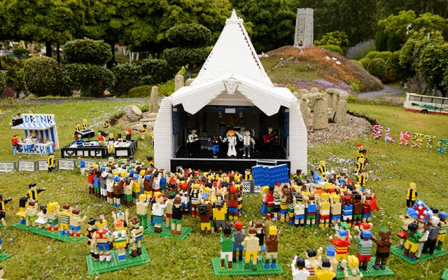Glastonbury Legoland 01