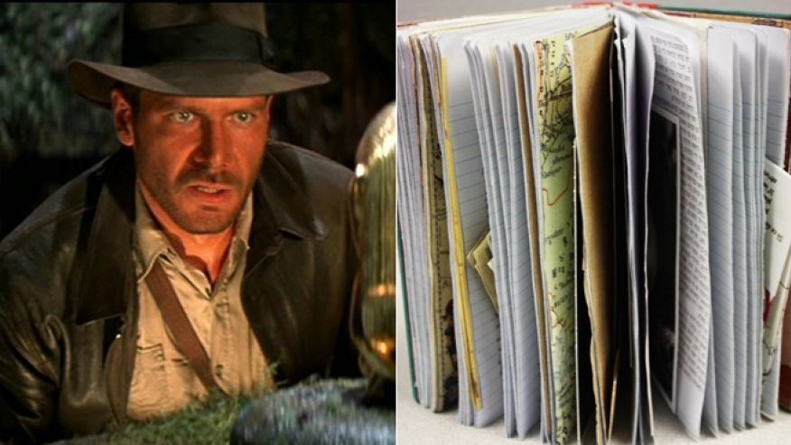 Harrison Ford Indiana Jones diary
