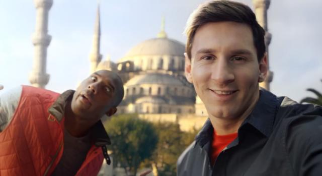 Kobe-v-Messi-Selfie-Shootout