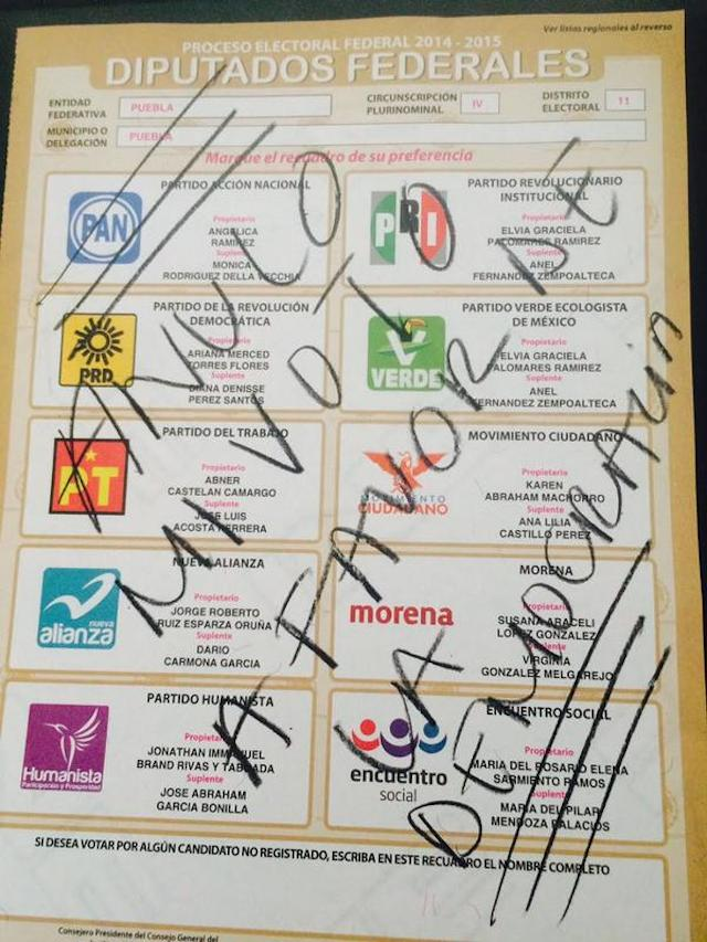 anulo voto