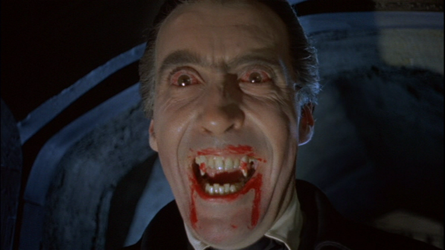 christoher lee dracula